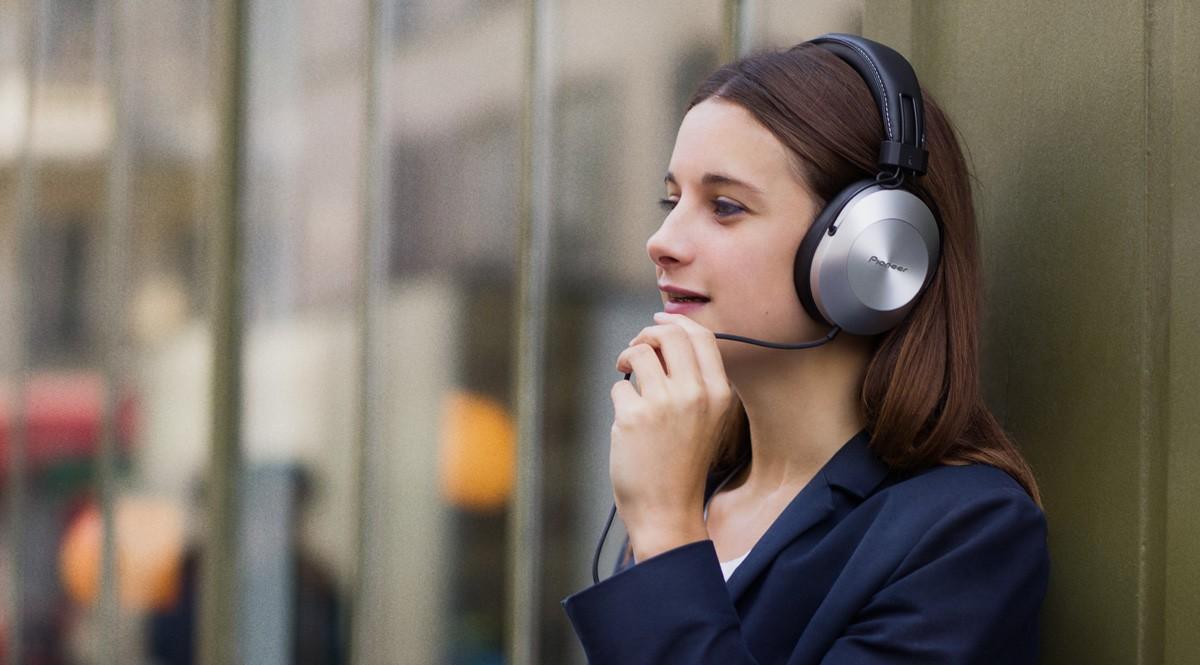 Pioneer představuje Hi-Res sluchátka pro náročné posluchače