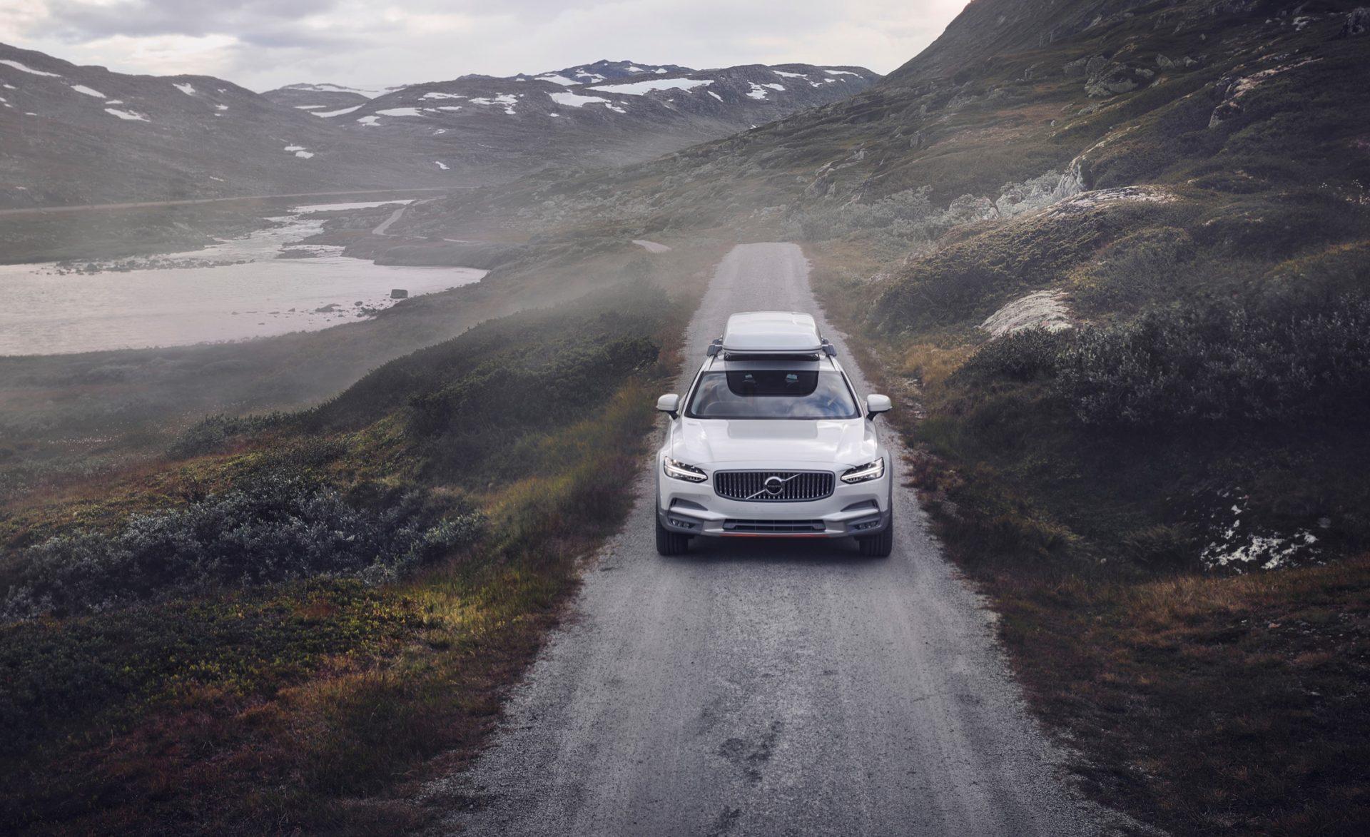 Volvo V90 Cross Country Ocean Race vo svojej špeciálnej edícii
